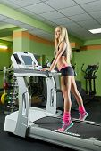 picture of treadmill  - Fitness center - JPG
