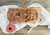 stock photo of home-made bread  - Home - JPG