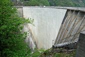 Dam In Verzasca Valley