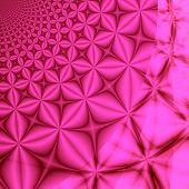 Pink fantasy  background illustration