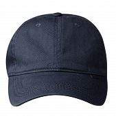 Cap Isolated On White Background. Cap With A Visor .blue Cap poster
