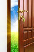 Doorway. Element of conceptual design.