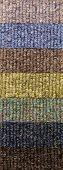 multicolor carpet texture samples background, design elements series