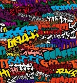 Seamless Graffiti Color Background