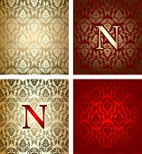 Red Gold Royal Background