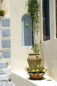 Street Scene Greek Islands
