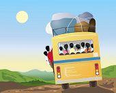 Indian Bus Travel