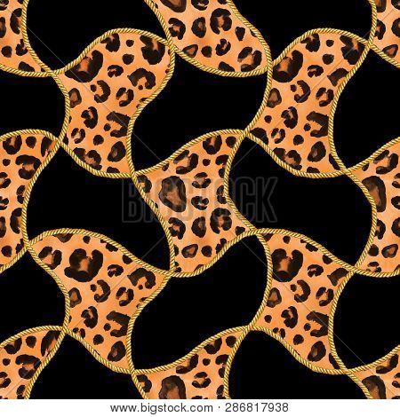Golden Chain Glamour Leopard Cheetah