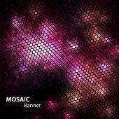 shiny mosaic banner