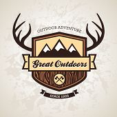Outdoors Emblem