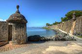 Paseo Del Moro Fort in San Juan, Puerto Rico