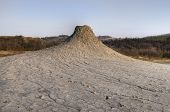 A Mud Volcano In The Natural Reserve Salse Di Nirano. Mud Volcanoes And Craters In Emilia Romagna, I poster