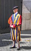 Switzerland Guards  In Vatican