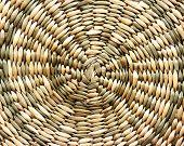 Light wicker background spiral