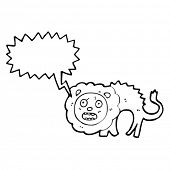cowardly lion cartoon