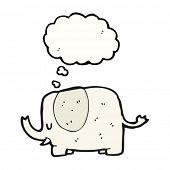daydreaming elephant cartoon