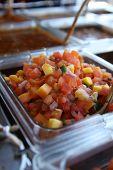 Salsa de manga fresca