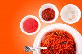 Fried Noodles, Chow Mein, Schezwan Noodles