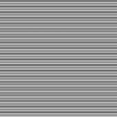 Horizontal Straight Lines With  The White:black (thickness) Ratio Equal With 5:3 Fibonacci Ratio (th poster