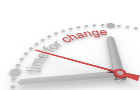 picture of change management  - Time for Change - JPG