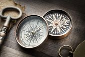 Old compasses