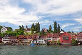 view of Stein Am Rhein. Switzerland. Europe