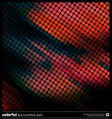 Abstract Motion Red Background