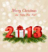 stock photo of happy new year 2013  -  Happy new year 2013 - JPG