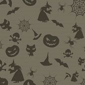 Halloween seamless background. EPS 10.