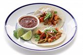 picture of nopal  - pork and cactus tacos - JPG