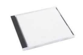 picture of jewel-case  - DVD case isolated on a white background - JPG