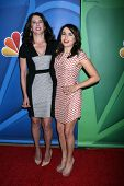 LOS ANGELES - JUL 27:  Lauren Graham, Mae Whitman at the NBC TCA Summer Press Tour 2013 at the Bever