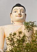Sri Lankas Landmark - Large Buddha Statue In Bentota poster