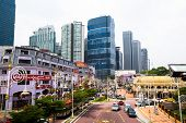 KUALA LUMPUR, MALAYSIA - MARCH 29: One of the streets in the city center on March 29, 2012 in Kuala Lumpur. KL was ranked 67th among global cities for economic and social innovation.