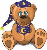 Bear In Pajamas.eps