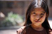 Beautiful Little Mayan Girl