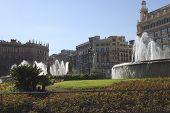 Plaça De Catalunya. Barcelona. Espanha
