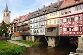 Merchants' Bridge. Erfurt