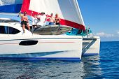 Sailboat party