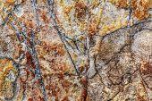 Rough Cut Large Marble Cobblestone Texture