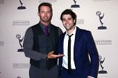 Eric Martsolf and Freddie Smith at the Daytime Emmy Nominees Reception presented by ATAS, Montage Beverly Hills, CA 06-13-13