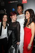 Sara Gilbert, Sharon Osbourne, Aisha Tyler and Julie Chen at the 40th Annual Daytime Emmy Awards, Be