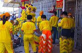 Malaysian Traditional Lion Dance