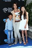 Ming-Na Wen and kids at the