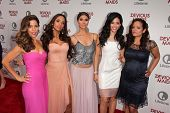 Ana Ortiz, Dania Ramirez, Roselyn Sanchez, Edy Ganem and Judy Reyes at the