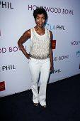 Angela Bassett at the Hollywood Bowl Hall of Fame Opening Night, Hollywood Bowl, Hollywood, CA 06-22-13