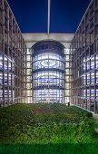 Bundestag Parliament Buildings In Berlin, Germany