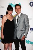 Pauley Perrette and Brian Dietzen at the 4th Annual Thirst Gala, Beverly Hilton Hotel, Beverly Hills