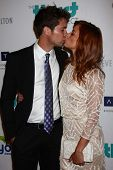 Drew Seeley and Amy Paffrath at the 4th Annual Thirst Gala, Beverly Hilton Hotel, Beverly Hills, CA