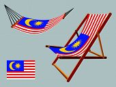 Malaysia Hammock And Deck Chair Set